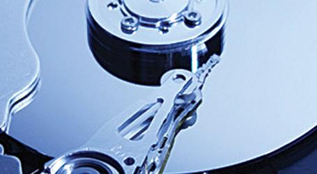 Internal view of DVD drive