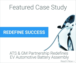 Featured Case Study - ATS & GM Partnership Redefines EV Automotive Battery Assembly
