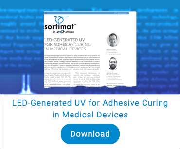 LED-Generated UV for Adhesive Curing in Medical Devices